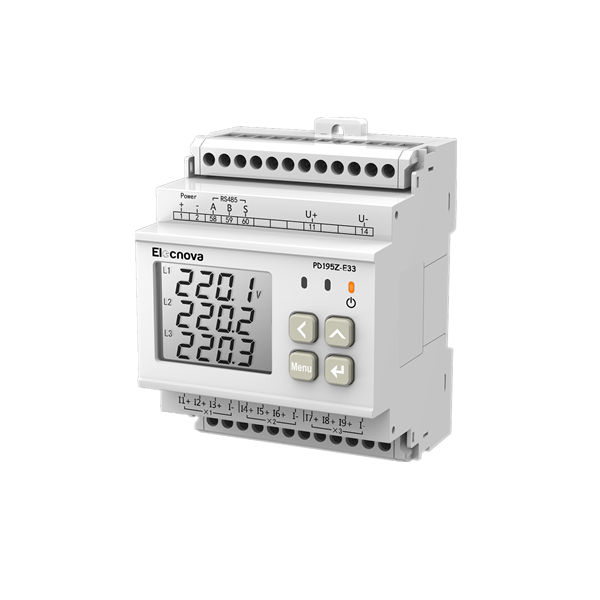 PD195Z-E33 DC multi-circuit power meter
